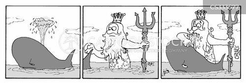 king neptune cartoon