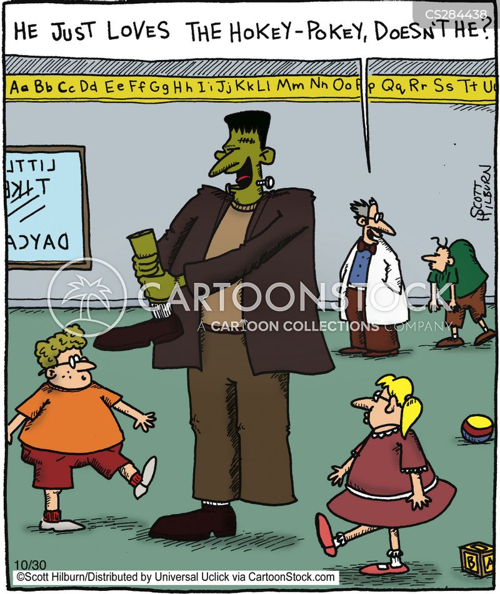 gothic novel cartoon