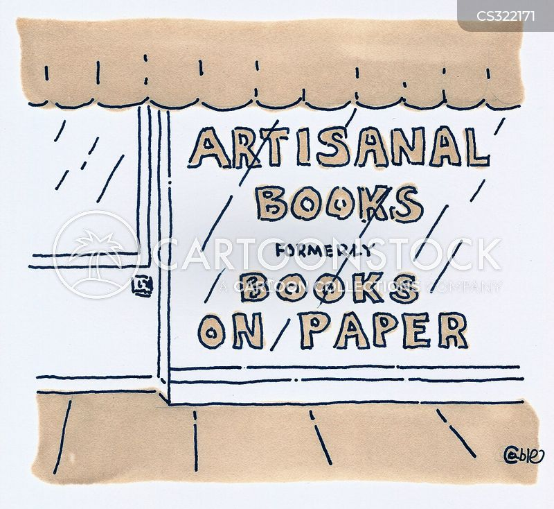 book genre cartoon