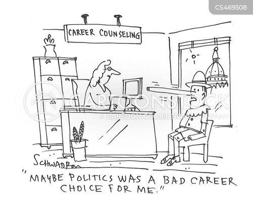 career counseling cartoon