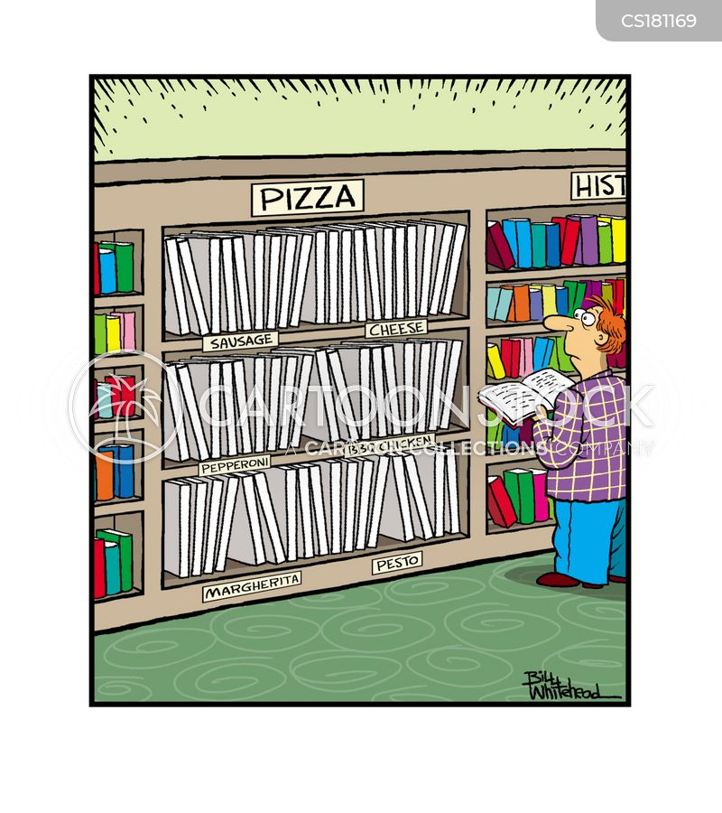 pizza takeaway cartoon
