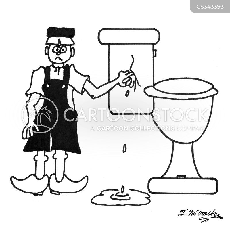 leakage cartoon