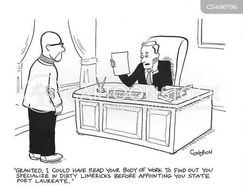 laureate cartoon