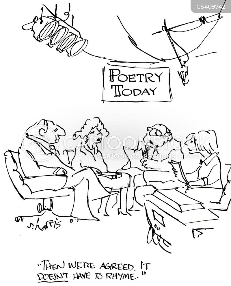 literary debate cartoon