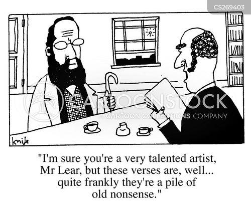 nonsense verse cartoon