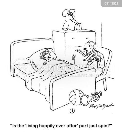 happy ending cartoon