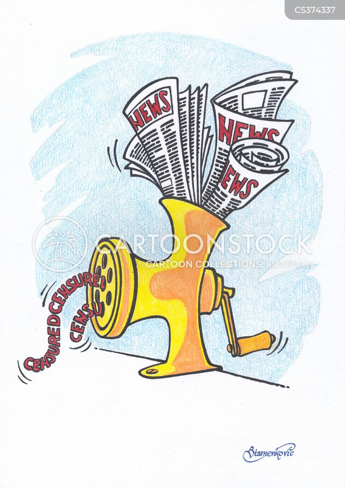 censured cartoon