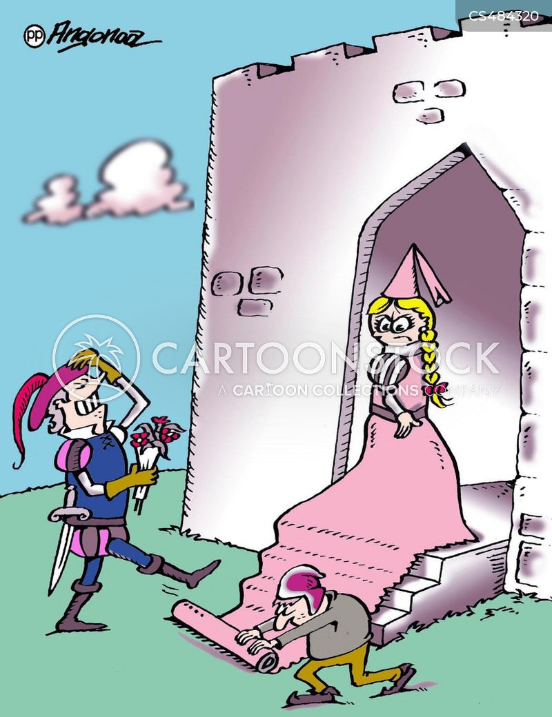 vip treatment cartoon
