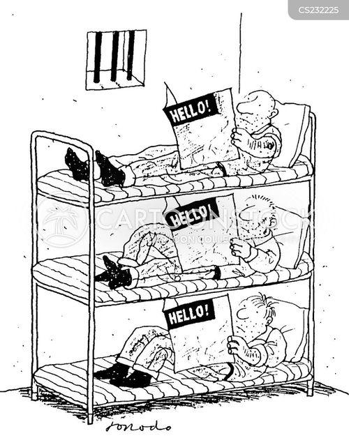 bunks cartoon
