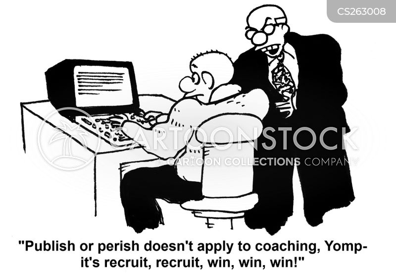 publish or perish cartoon