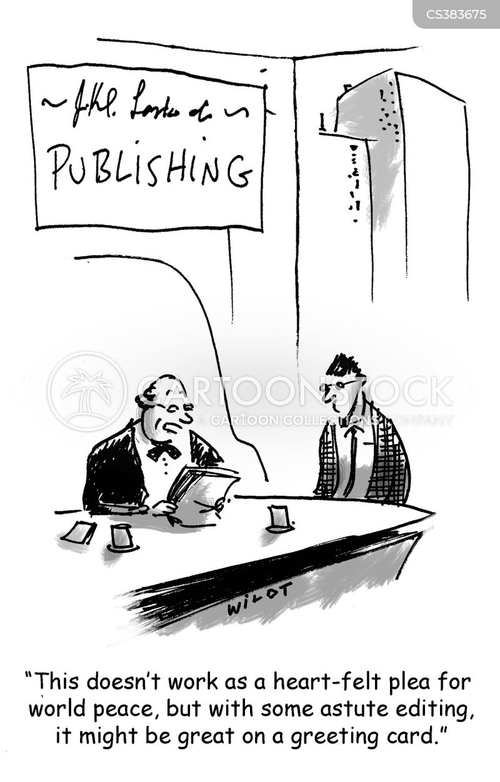 publishing houses cartoon