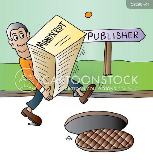 man-hole cartoon