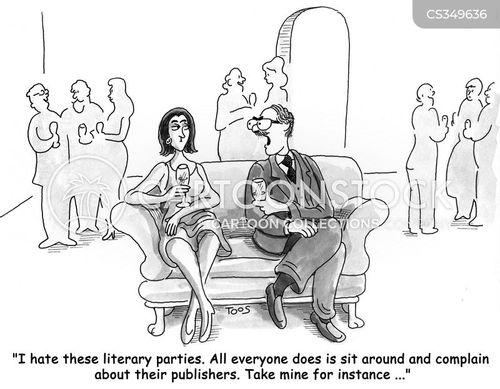 writing careers cartoon