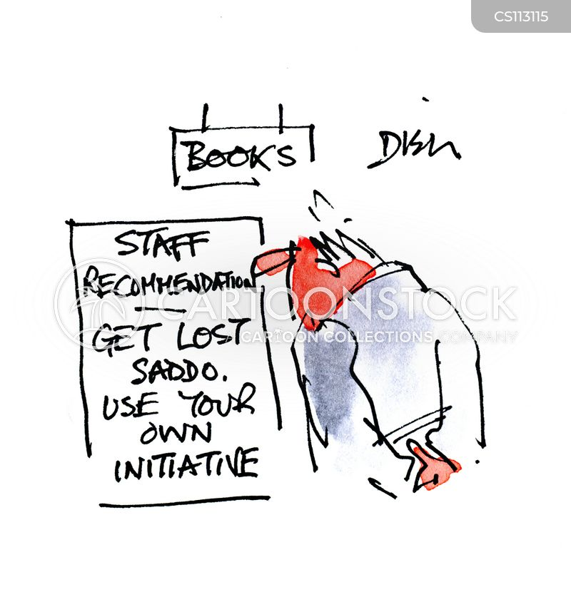 Image result for book recommendations cartoon