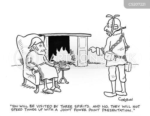 a christmas carol cartoon