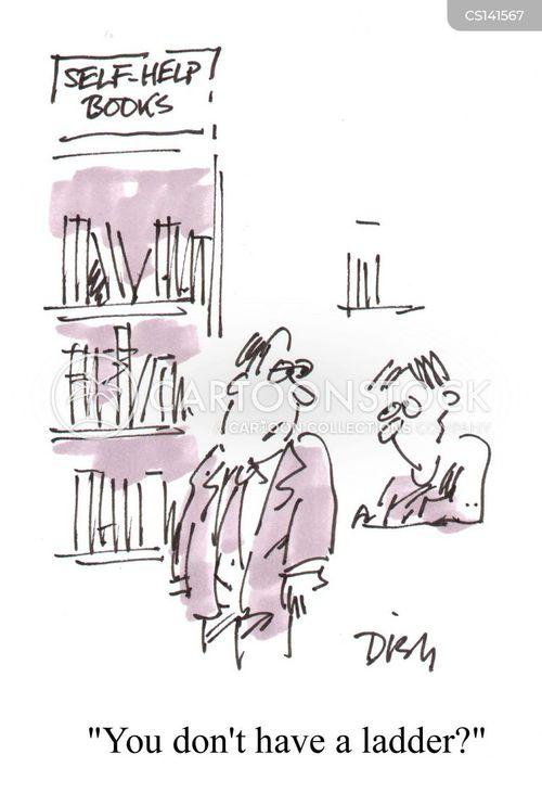self-help guides cartoon