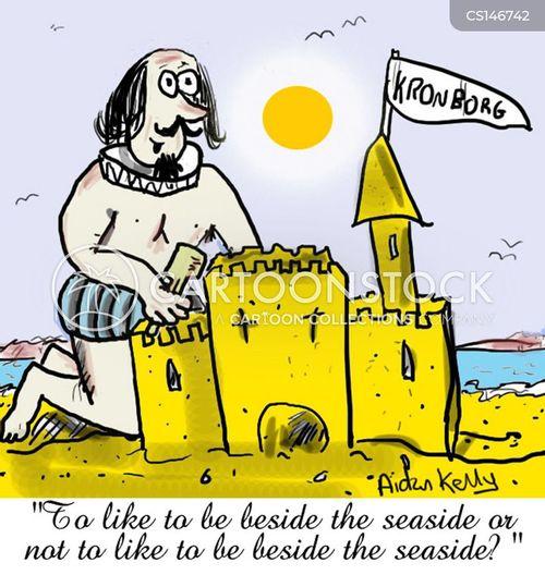 the seaside cartoon