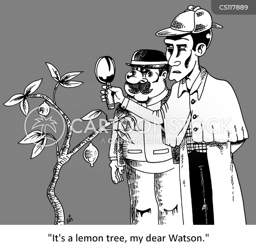 holmes cartoon
