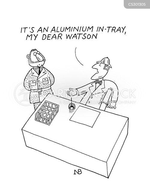 aluminium cartoon