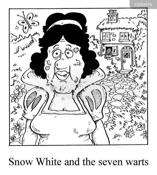 snow white and the seven dwarfs cartoon