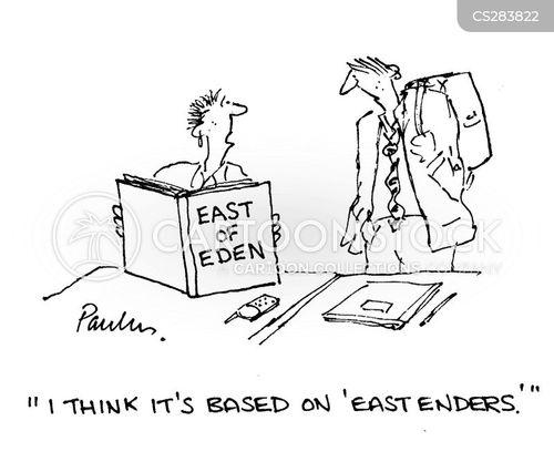 eastenders cartoon