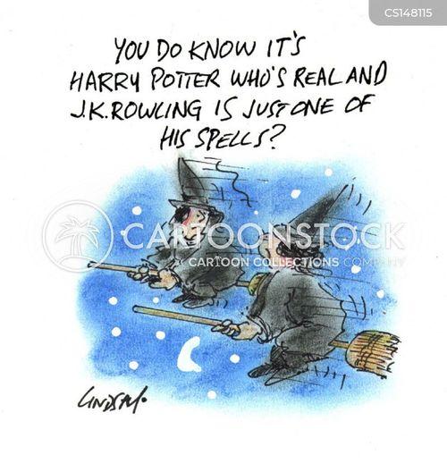 rowling cartoon