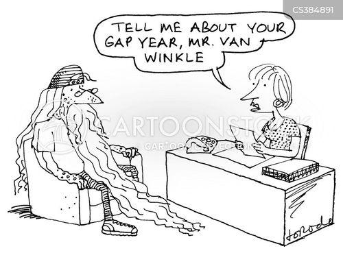rip van winkle cartoon