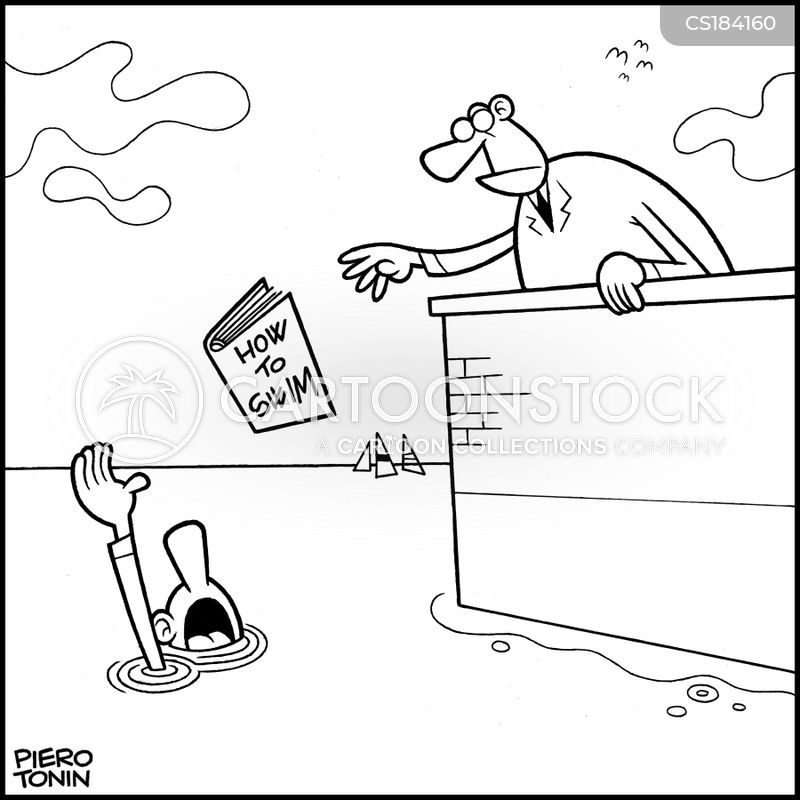 Drowning Cartoons And Comics Funny Pictures From