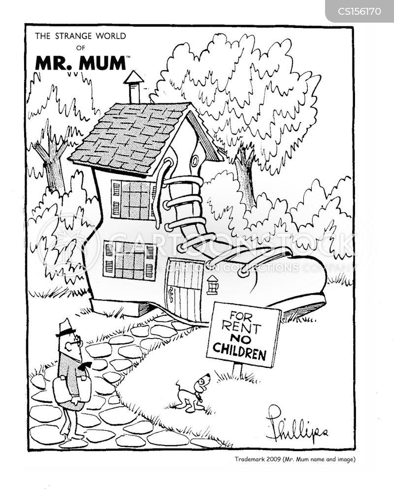 The Old Woman Who Lived In A Shoe Cartoons And Comics Funny