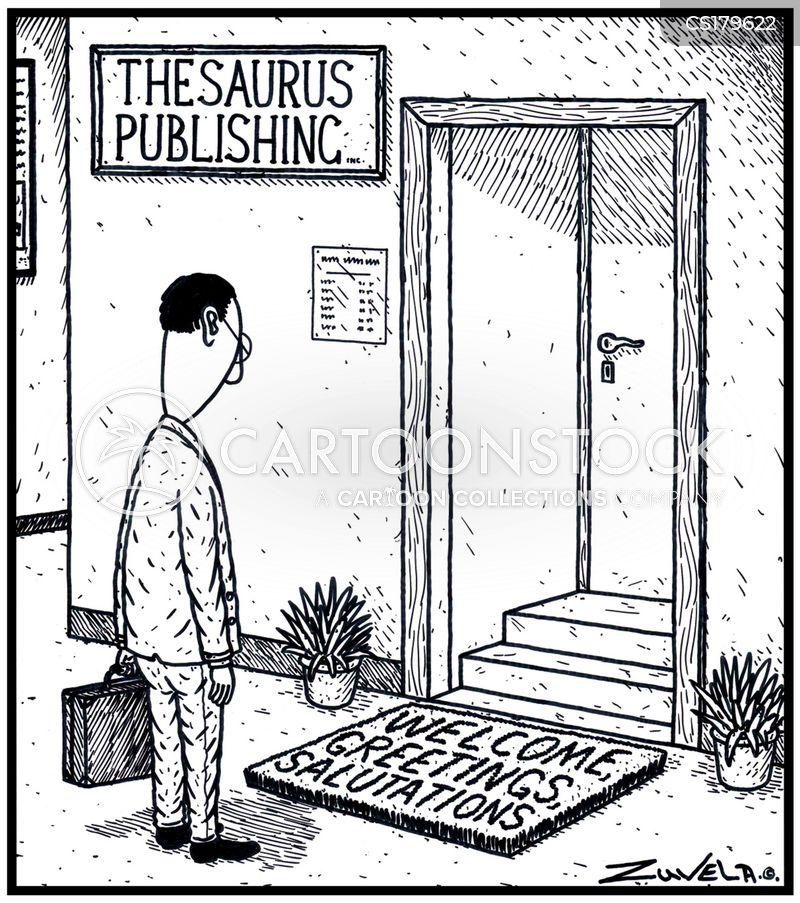 thesaurus cartoon