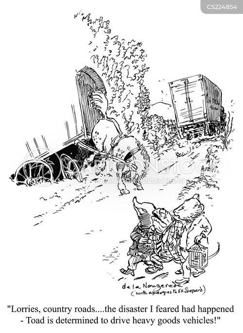 hgv cartoon