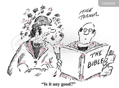 good books cartoon