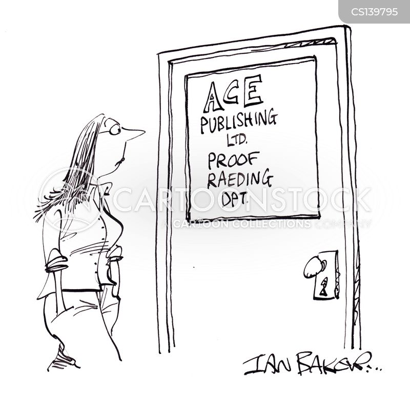 publishing department cartoon