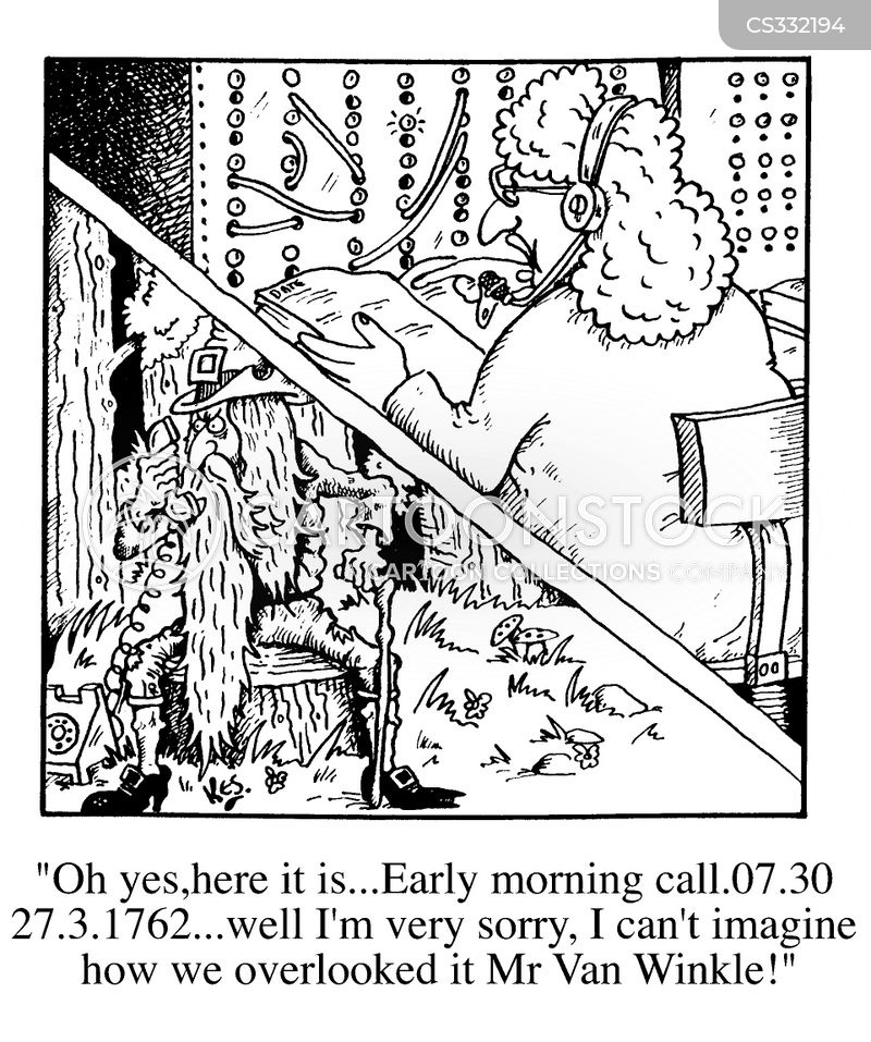 van winkle cartoon