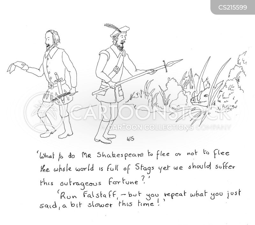 literary quote cartoon