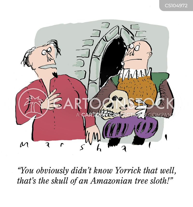 shakespearean cartoon