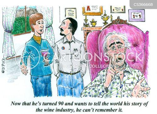 life-story cartoon
