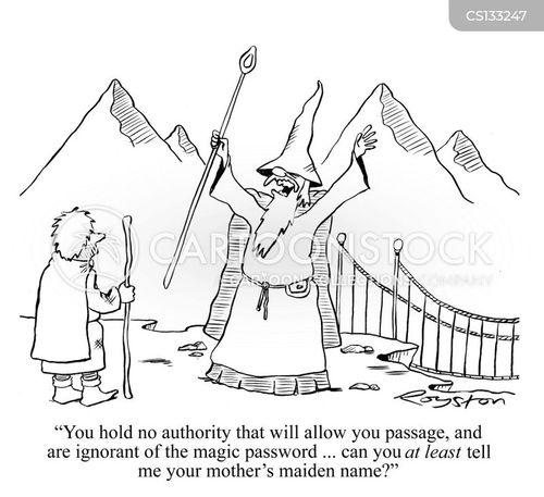 fantasy novel cartoon