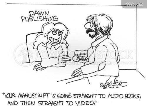 getting published cartoon