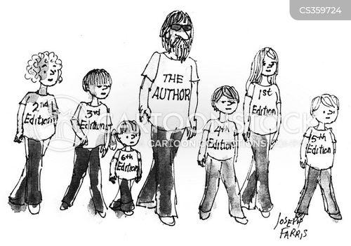 first editions cartoon