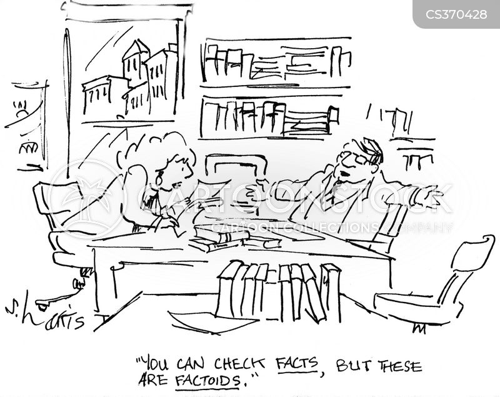 factoids cartoon
