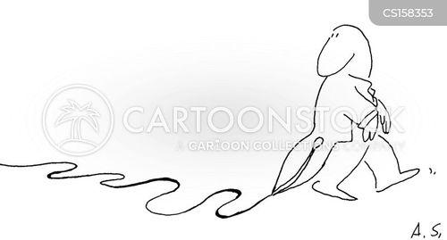 threads cartoon