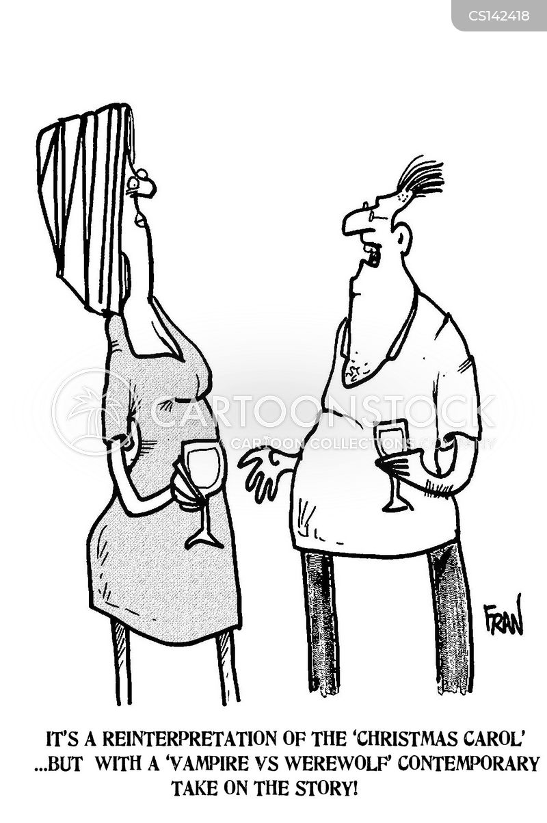 reinterpretation cartoon