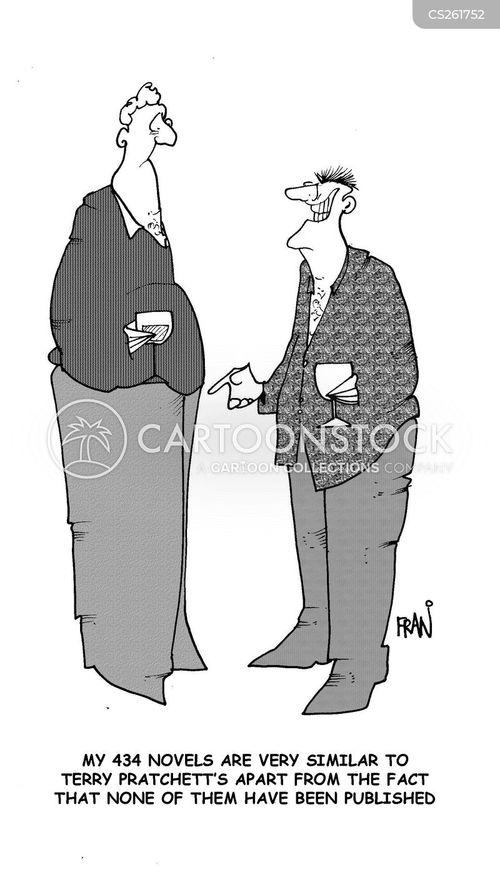 unpublished cartoon