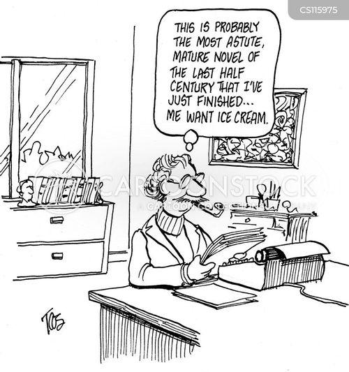 astute cartoon