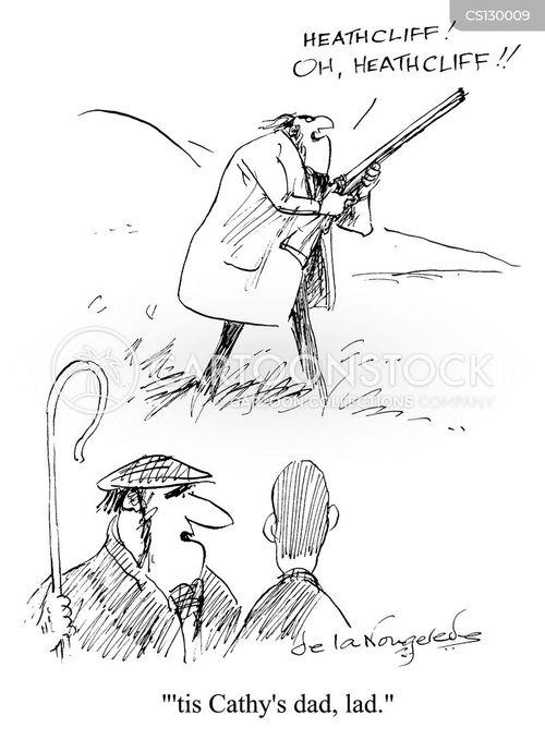 emily bronte cartoon