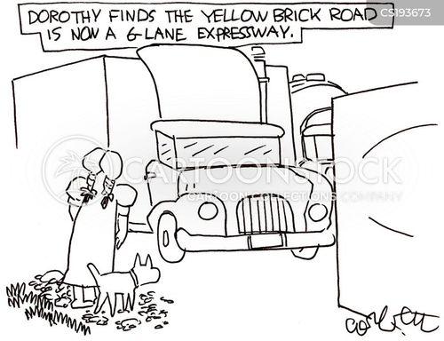 dorothy cartoon