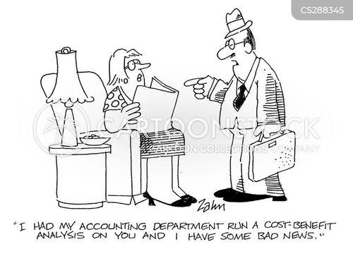 cost-benefit analysis cartoon