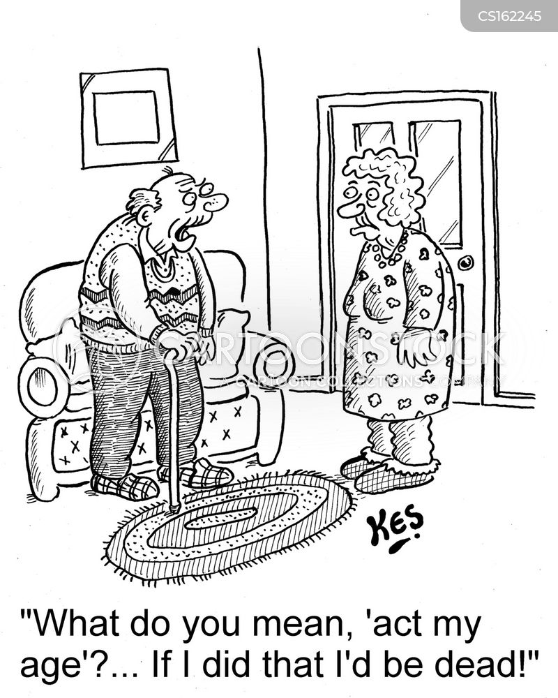 act your age cartoon
