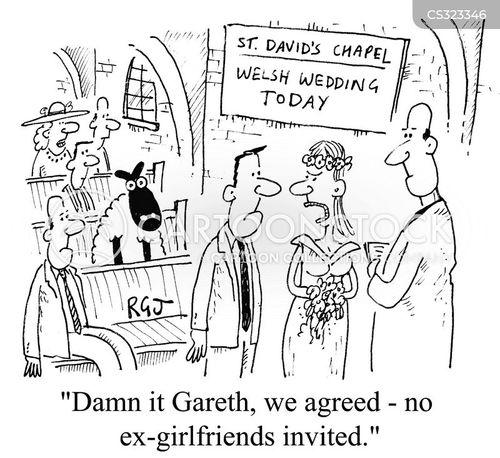 ex-girlfriends cartoon